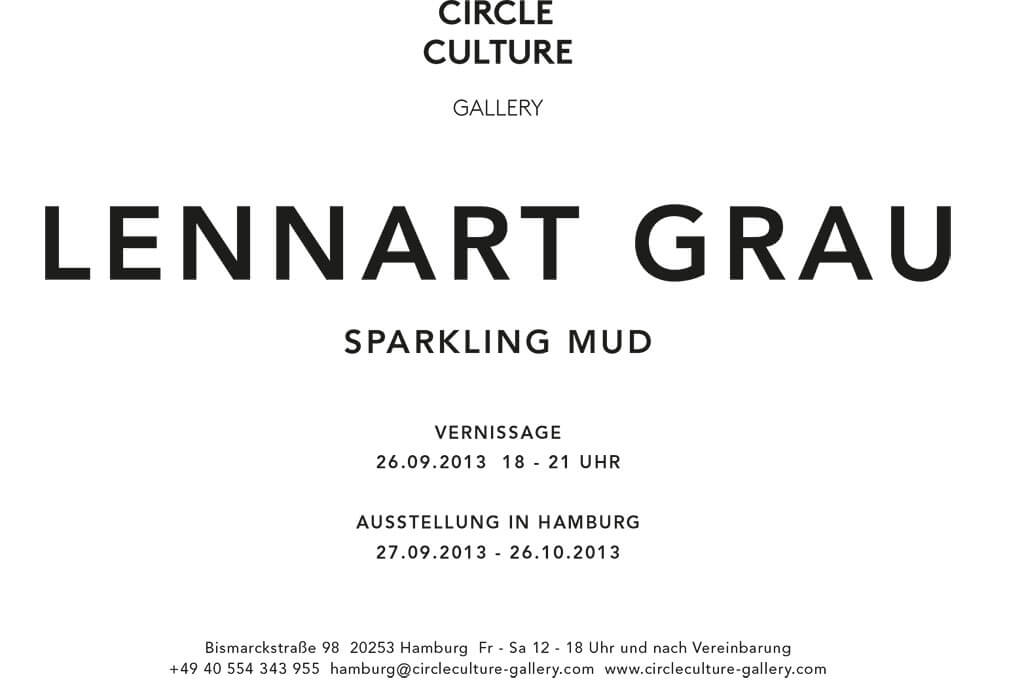 Lennart Grau Berlin Artist Exhibition at Circle Culture Gallery sparkling mud Ausstellung Hamburg gemaltes Gold