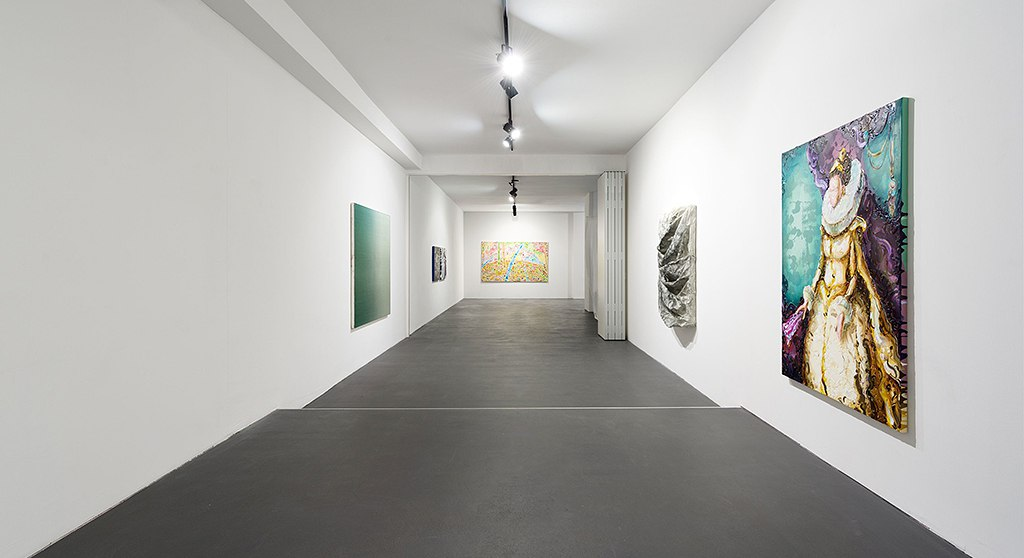 Lennart Grau Berlin Radiate exhibition installation view 2015 courtesy of Circle Culture Gallery